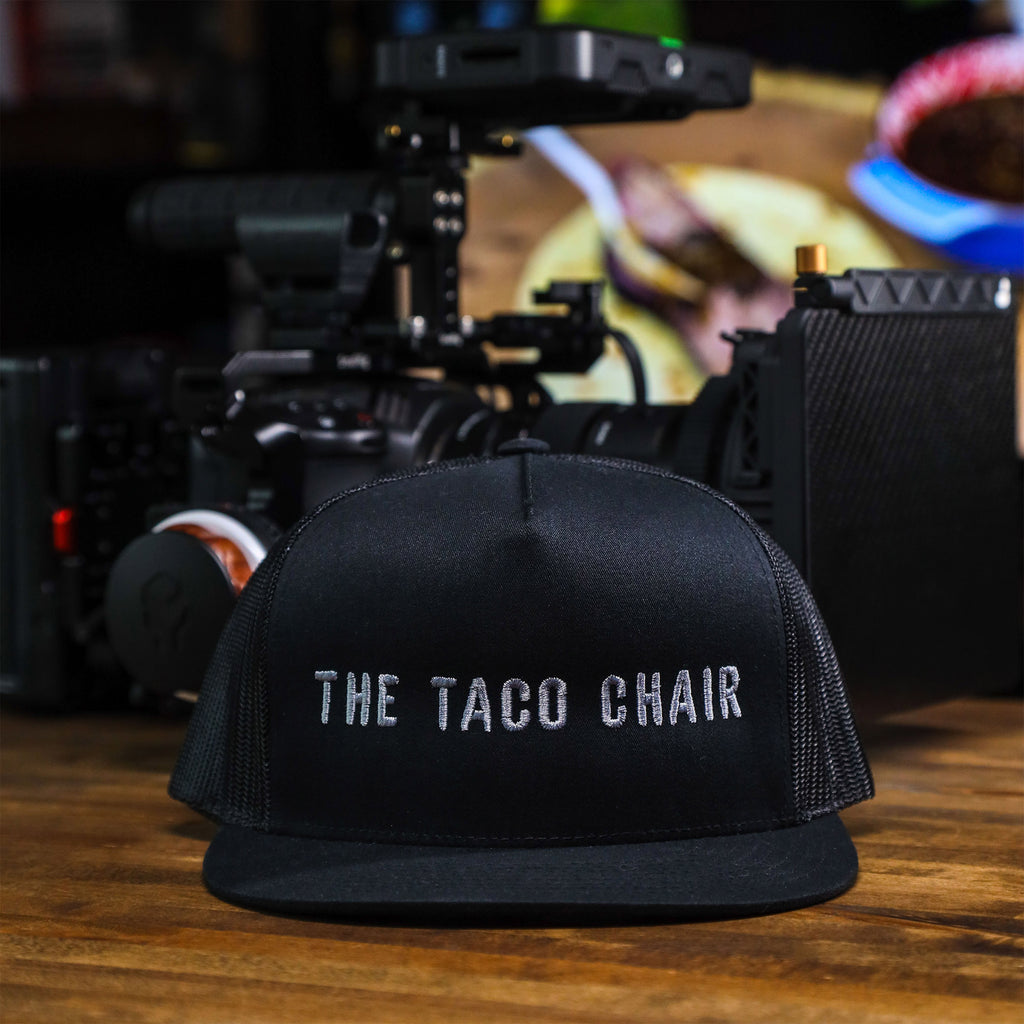 The Taco Chair Mesh Trucker (Black)