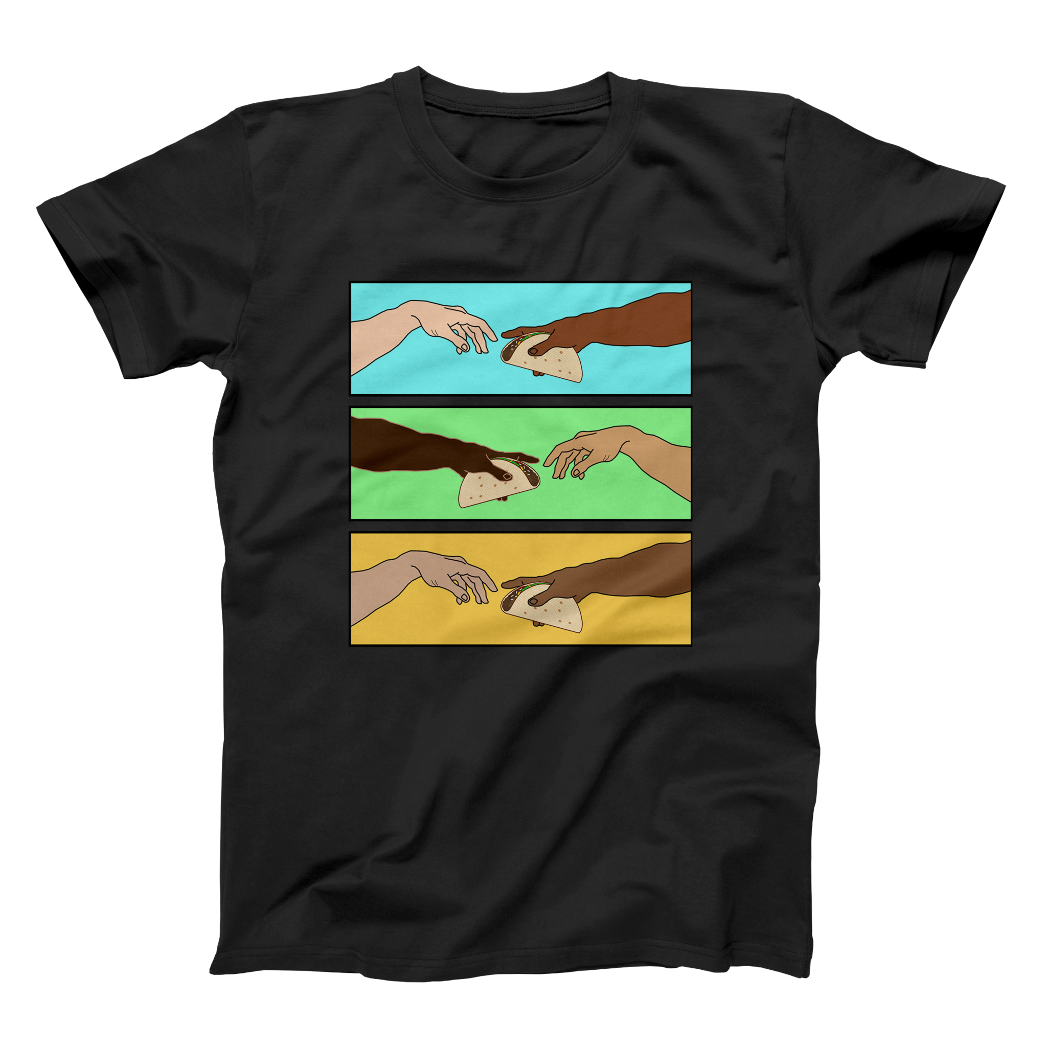 Creation of Unity Taco Shirt - Taco Gear