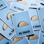 El Taco Loteria Card Sticker