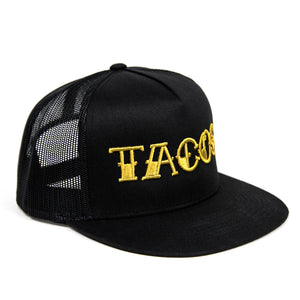 Taco Gear GOLD TACOS Trucker Hat Side View