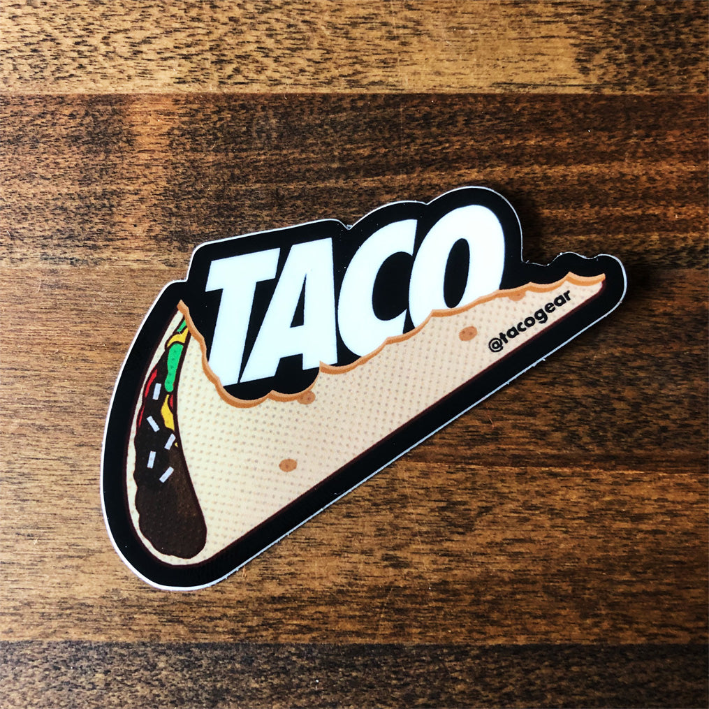 TACO (Just Eat it) Sticker - Taco Gear