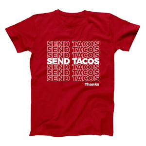 Send Tacos Taco Gear Shirt in Red