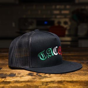 TACOS Mexican Flag Trucker