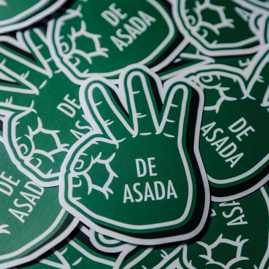 Tres De Asada Sticker