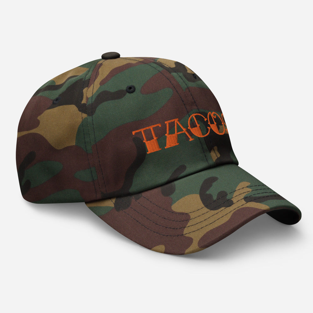 TACOS Unstructured Dad Hat (Camo)
