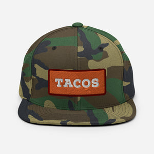 TACOS Patch Camo Snapback - Taco Gear
