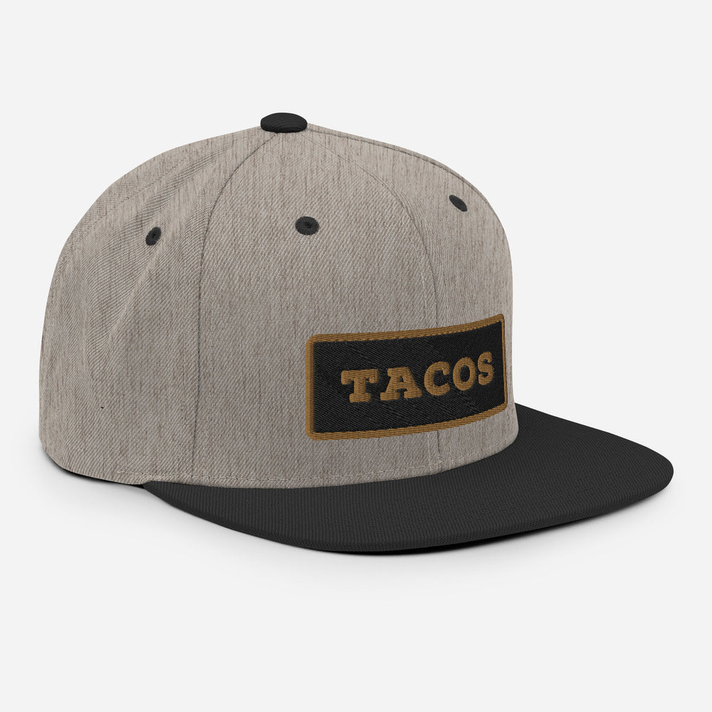 TACOS Patch Snapback - Taco Gear