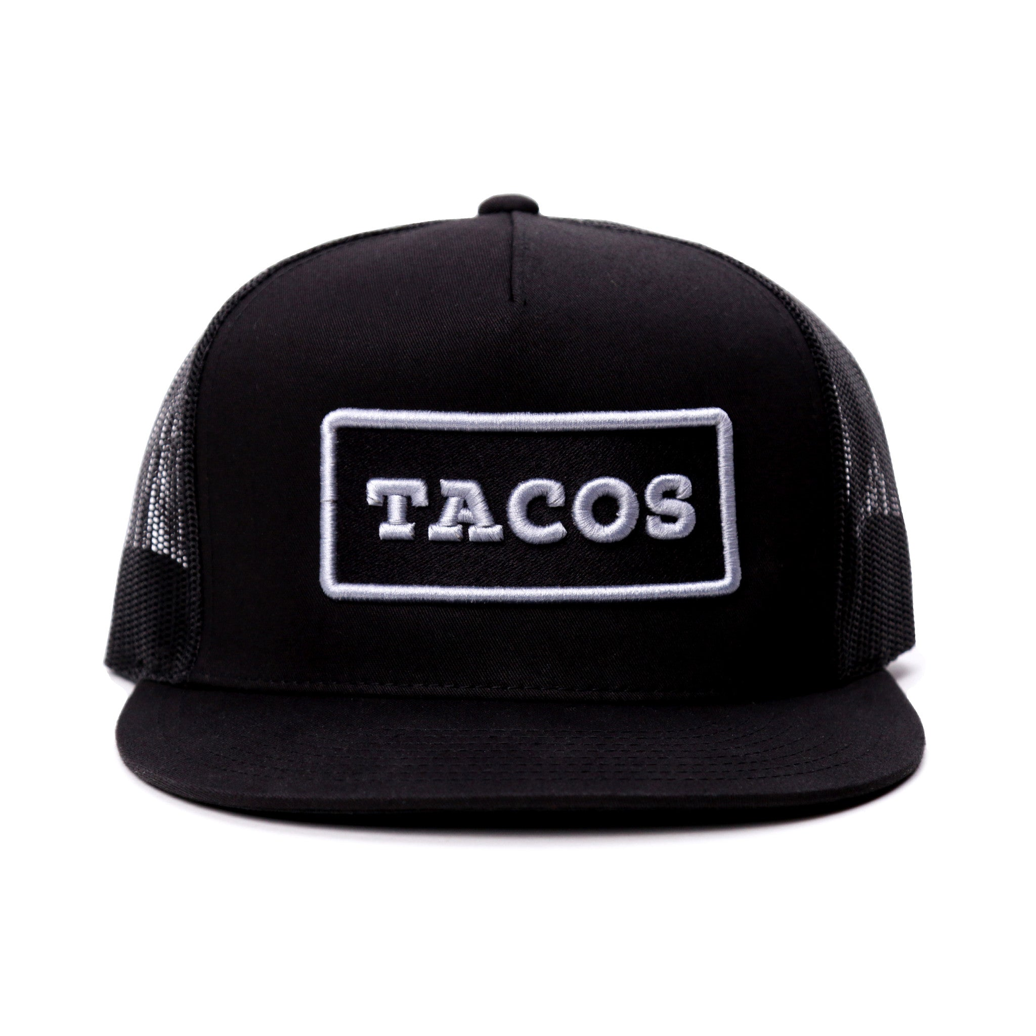 Taco Gear Tacos Patch Trucker Hat