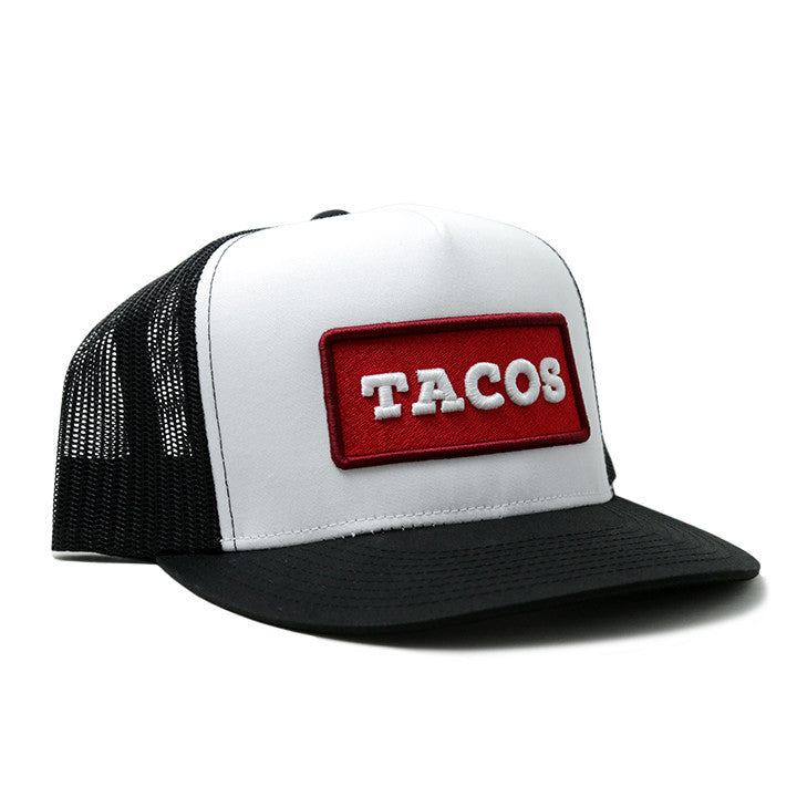 Taco Gear Tacos Patch Trucker Hat b60816f690b9
