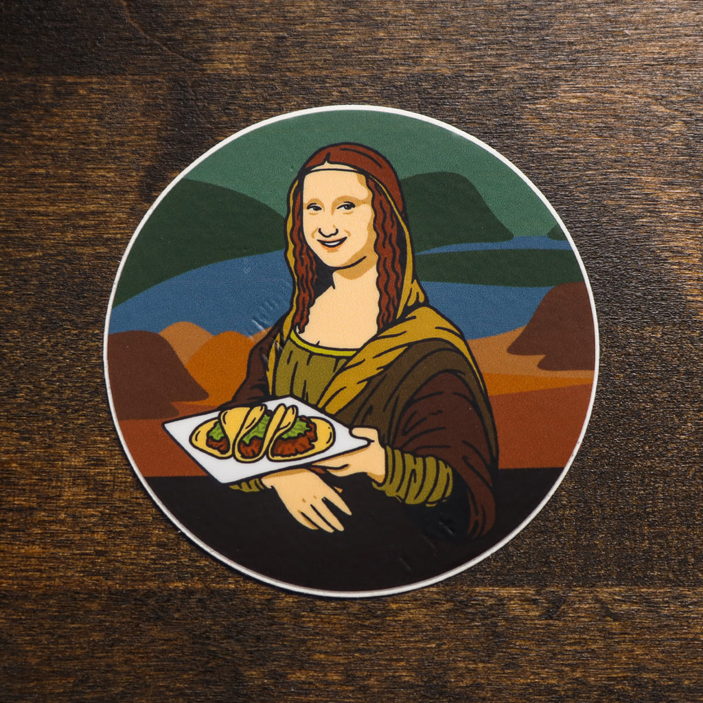 Taco Lisa Sticker - Taco Gear