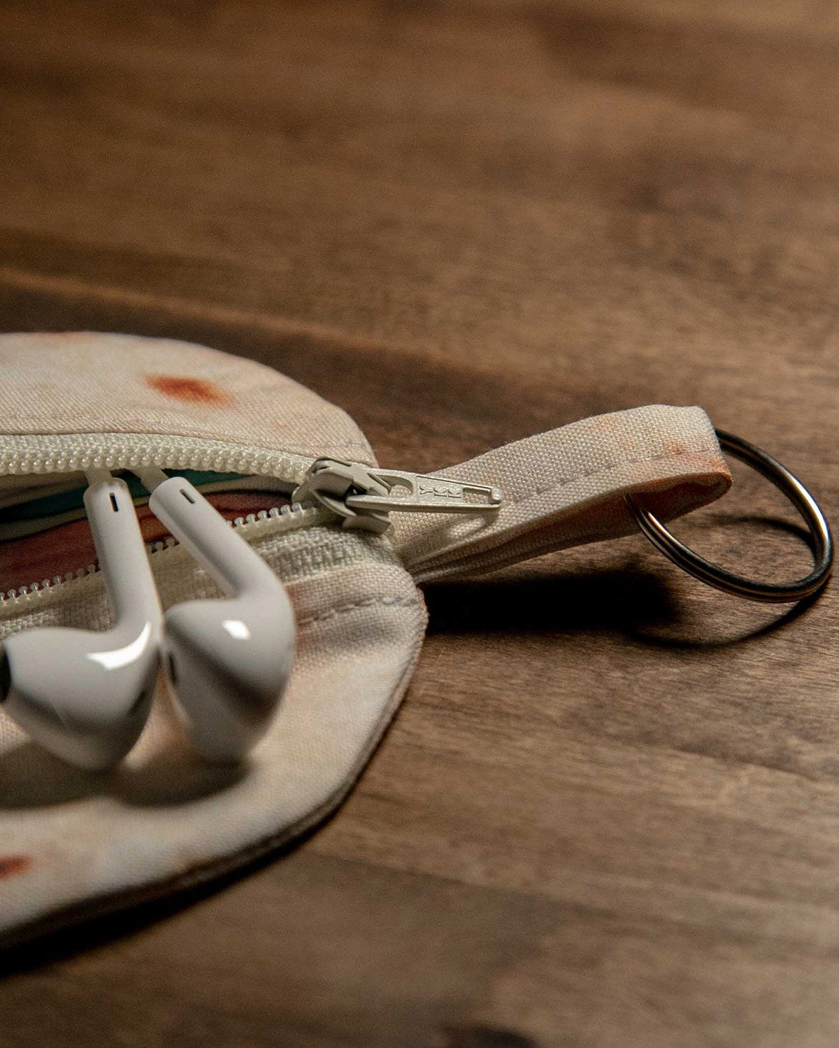 Tortilla Pouch Key Chain (Handmade) - Taco Gear