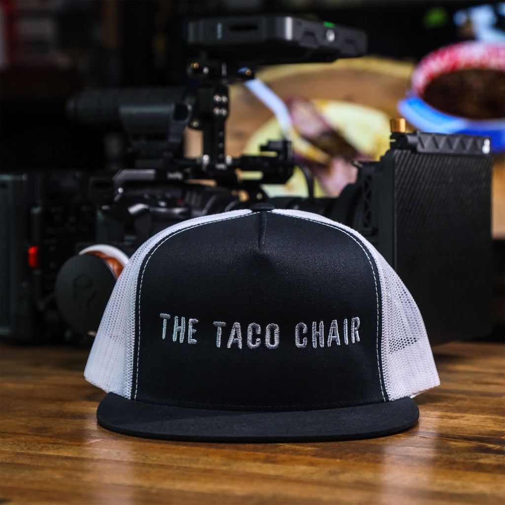 The Taco Chair Mesh Trucker (Black/White)