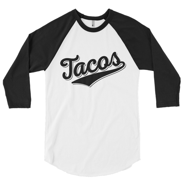 Taco Baseball 3/4 Sleeve Raglan Shirt - Taco Gear