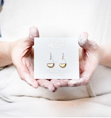 gold drop earrings - ASH Jewelry Studio - 4