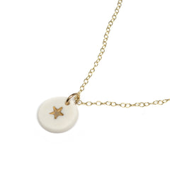 tiny gold star necklace - ASH Jewelry Studio - 2
