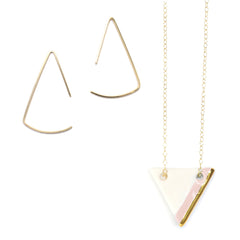 pendulum triangle collection - ASH Jewelry Studio - 2