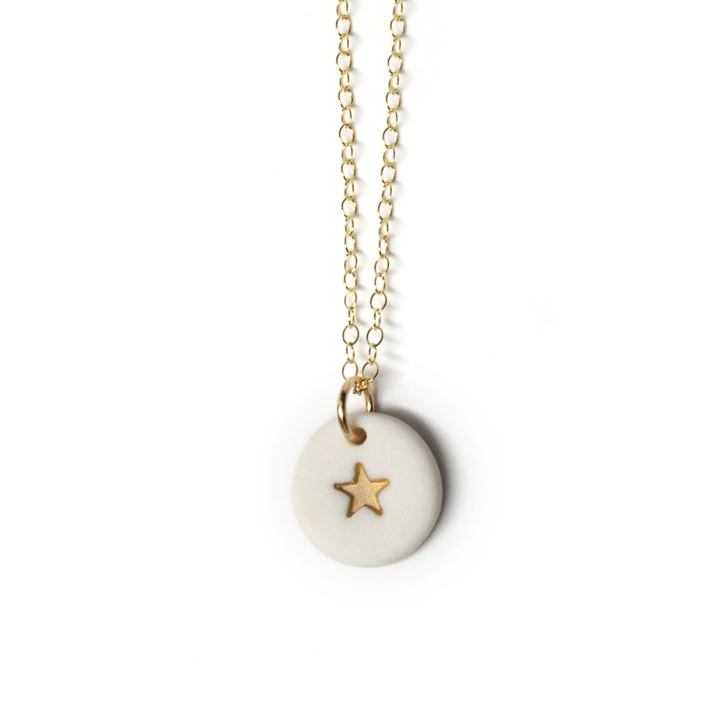 tiny gold star necklace - ASH Jewelry Studio - 1