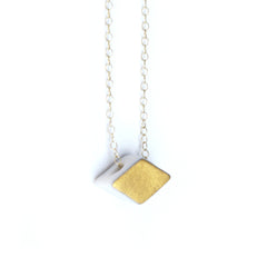 diamond shaped necklace - ASH Jewelry Studio