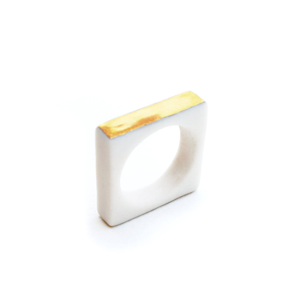 squared ring - ASH Jewelry Studio