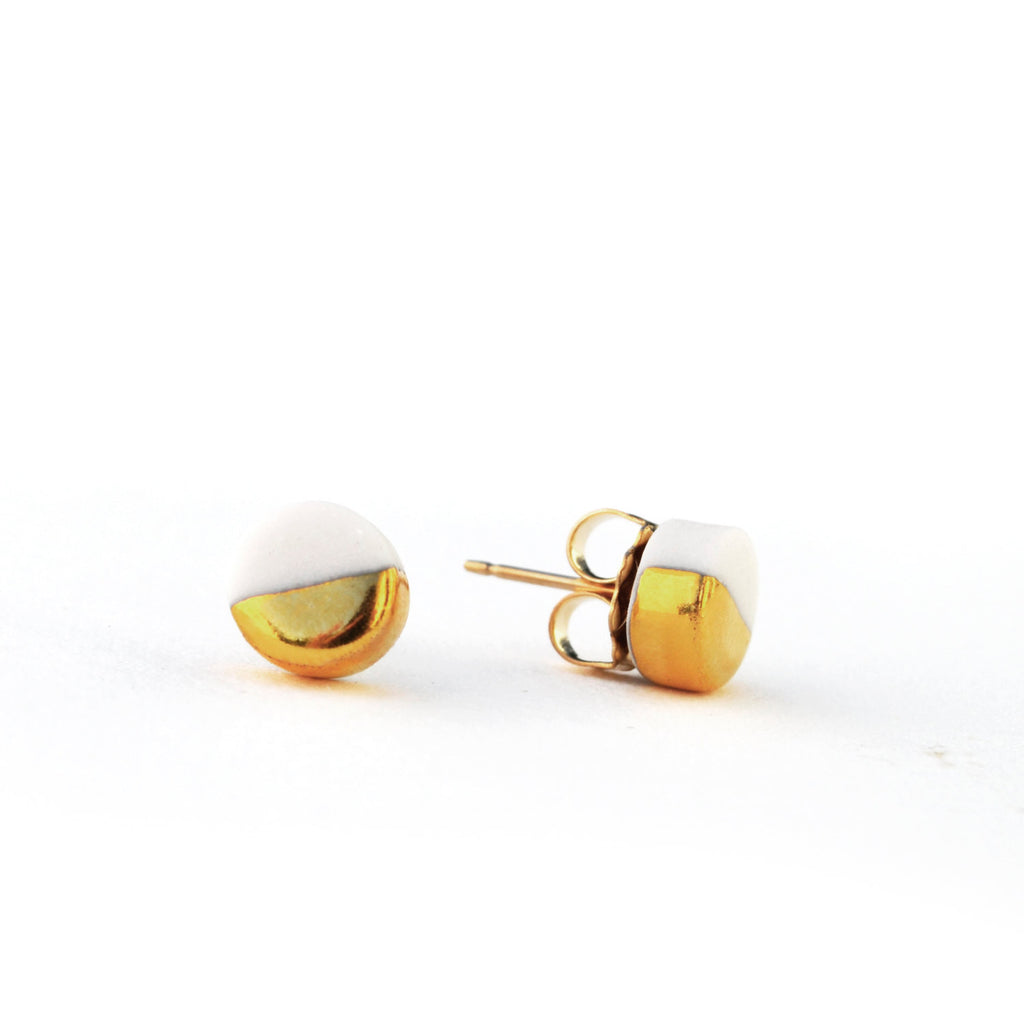 tiny orb earrings - ASH Jewelry Studio