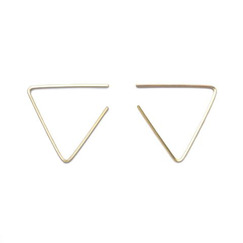acute earrings