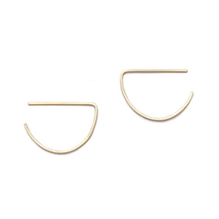 semi earrings - ASH Jewelry Studio - 1