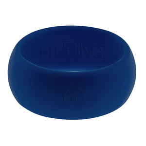 Men's Silicone Wedding Ring - Dusk Blue - Not just a rubber ring