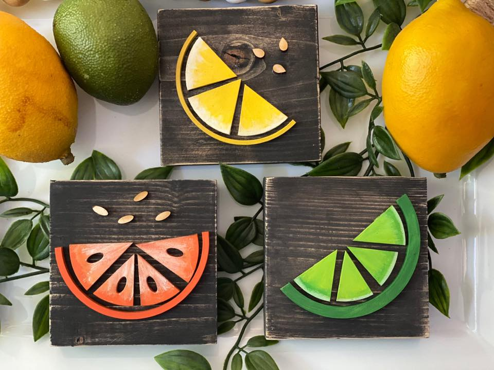 Lemon, Orange and Lime Summer Squares