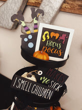 Load image into Gallery viewer, Hocus Pocus Inspired Tiered Tray Kit