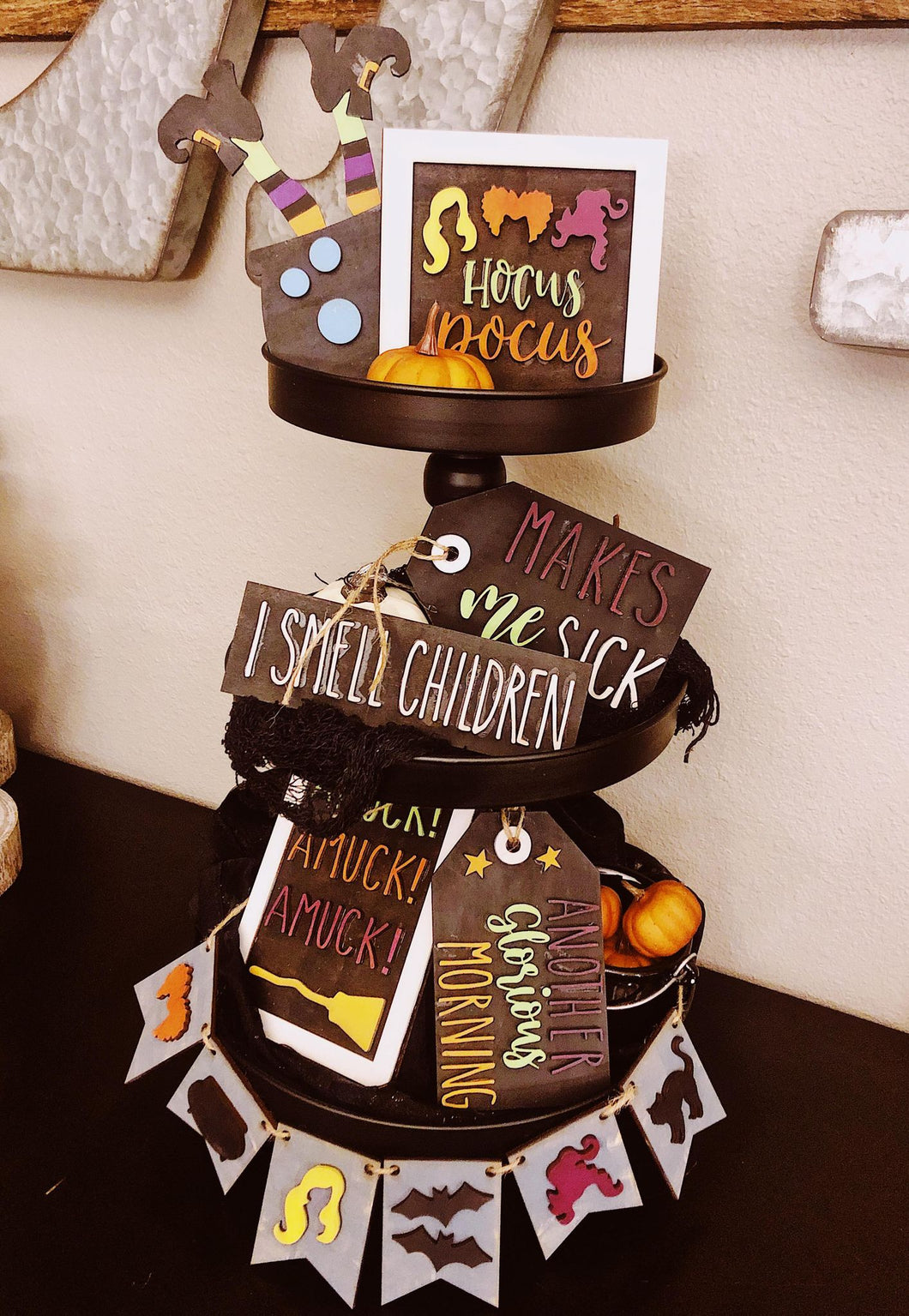 Hocus Pocus Inspired Tiered Tray Kit