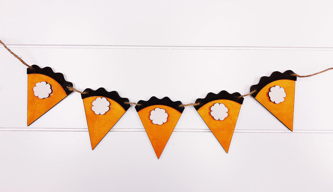 Pumpkin Pie Banner Kit