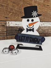 Load image into Gallery viewer, Snowman DIY Kit