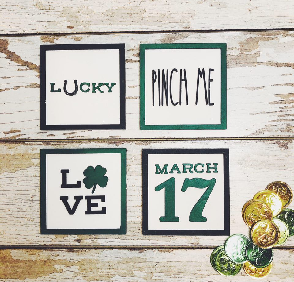 Mini St. Patrick's Day Signs