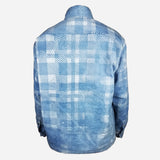 Indigo Flannel Work Jacket