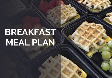 Breakfast Meal Plan - The Black Market Kitchen