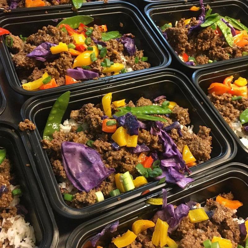 Lunch option #3 - Low Carb Beef Stir Fry