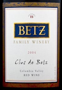 2004 Betz Family Clos de Betz 750ml