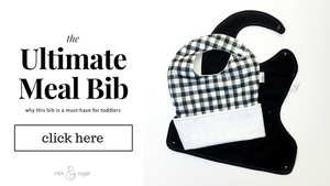 The Ultimate Meal Bib: three cheers for the perfect waterproof pocket bib for toddlers