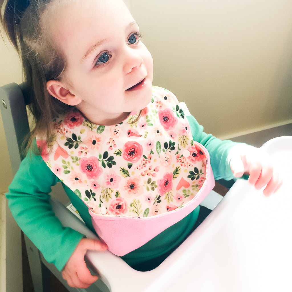 Ultimate Meal Bib - Waterproof baby and toddler pocket bib from Milk & Sugar