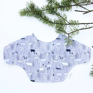 MILK & SUGAR BABY - Bibcloth 2-in-1 burp cloth and bib - Icy Pines