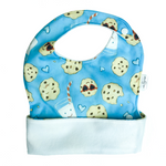 Ultimate Meal Bib - Waterproof Pocket Bib for Toddlers - Milk & Cookies by Milk & Sugar