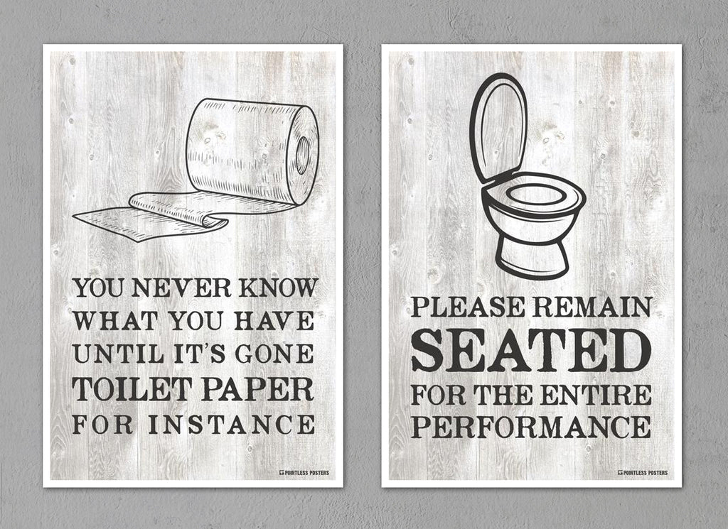 Bathroom Decor Posters