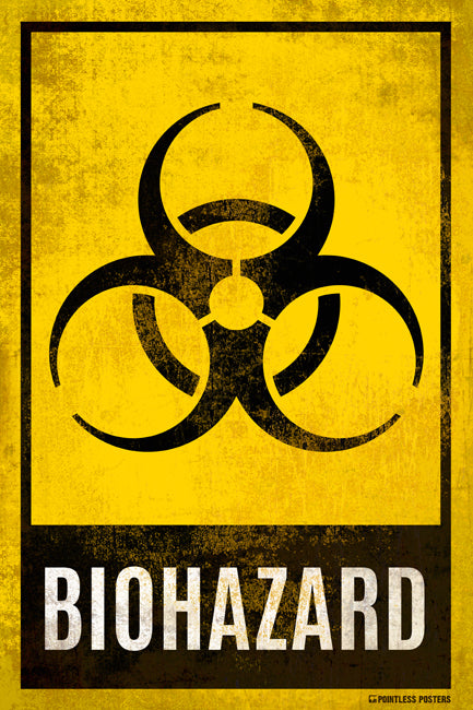 Biohazard Sign Poster
