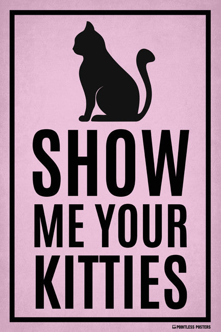 Show Me Your Kitties Poster