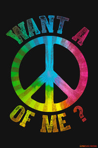 Want A Peace Of Me Poster