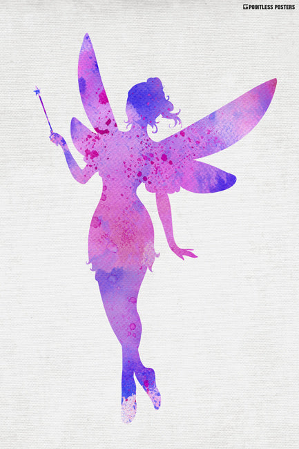 Watercolor Fairy Poster