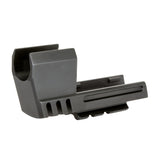 USP Series (HECKLER & KOCH) .45mm MATCH WEIGHT STEEL COMPENSATOR WITH PICATINNY RAIL