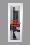 Zombie | Emergency Break Glass Gun Cabinet | Display Case | Wall Mountable