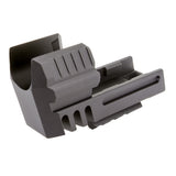HK45C (HECKLER & KOCH) ALUMINUM COMPENSATOR WITH PICATINNY RAIL