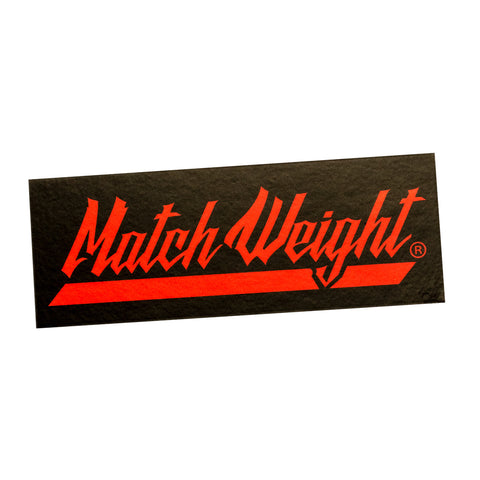 Match Weight Sticker (5) Pack